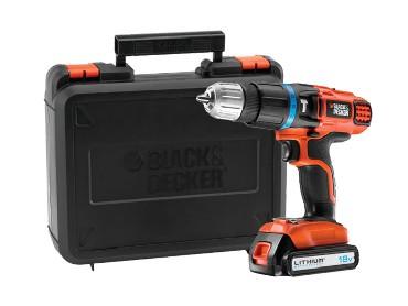 Akumulatorowa wiertarko-wkrętarka udarowa Black&Decker EGBL 188K