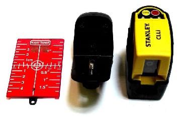 Laser krzyżowy Stanley CLLI + zestaw