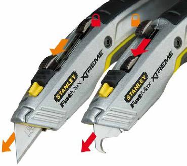 Nóż Stanley FMX podwójne ostrza