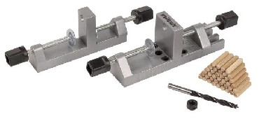 Zestaw do połączeń kołkowych Wolfcraft Do kołków drewnianych 6-8-10 mm
