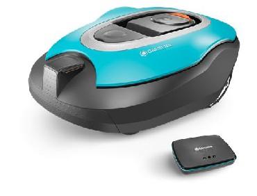 Kosiarka automatyczna Gardena smart robot koszący R100Li Sileno / robot koszący + router