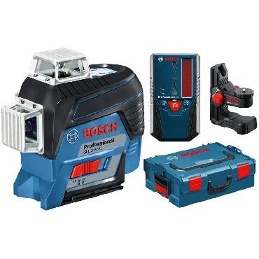 Laser liniowy Bosch GLL 3-80 C + BM 1 + LR 6