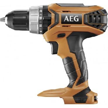 Akumulatorowa wiertarko-wkrętarka udarowa AEG BSB18G3-0