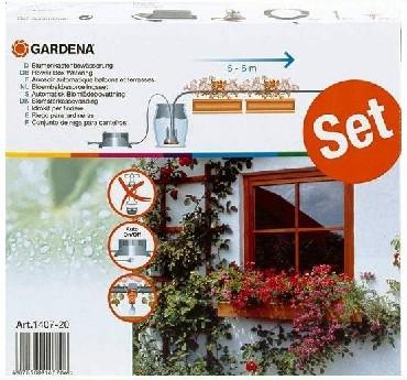 Automatyczna konewka Gardena Automatyczna konewka do skrzynek balkonowych