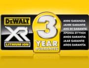 3-letnia gwarancja od DeWALT