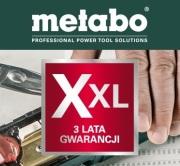 Gwarancja XXL - 3-letnia gwarancja Metabo