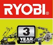 3 lata gwarancji od Ryobi