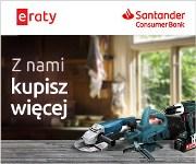 Raty w Santander Bank + GRATIS