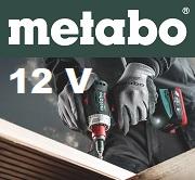 Nowe maszyny akumulatorowe Metabo 12 V